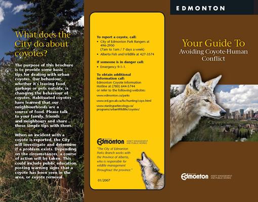 Edmonton Urban Coyote Project - Publications, Resources